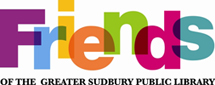 Friends of the Greater Sudbury Public Library logo
