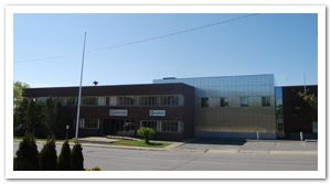 Exterior of City of Greater Sudbury Archives
