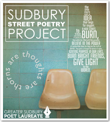 Sudbury Street Poetry Project poster.