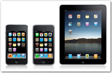 Apple iPod Touch, iPhone, and iPad