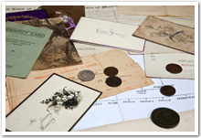 Old photographs and letters