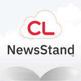 cloudLibrary NewsStand logo