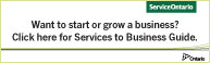 Services to Business Guide logo