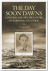 "Book jacket of ""The Day Soon Dawns"" by Liisa Kovala"