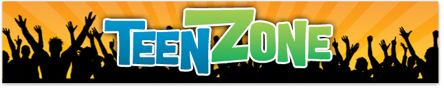 banner for Teen Zone