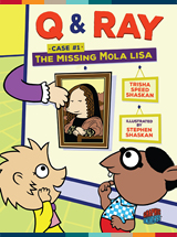 «The Missing Mola Lisa» couverture de livre