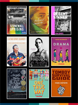 collection de couvertures de livres de la liste de livres de «Sudbury Pride Week»