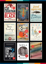 «Award-Worthy Canadian Fiction» couvertures de livres